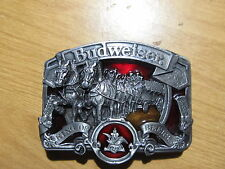 Rare Budweiser King Of Beers Belt Buckle Official Product #W-42 USA