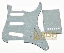 Guitar SSS Pickguard and Back Plate fits Yamaha PACIFICA White Pearl 3 Ply