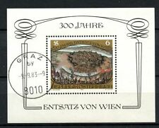 Austria 1983 SG#MS1974 Relief Of Vienna Cto Used M/S #A34928