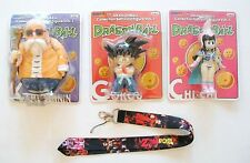 3 pcs Dragon Ball Collection Soft Vinyl Figure Vol. 1 ~Free Lanyard~ US Seller