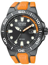 Citizen Eco-Drive BN0097-11E Solar Scuba Fin 200m Divers Watch.