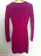 Bnwt Victoria Secret MODA International Angora Rabbit Hair Women's Dress S