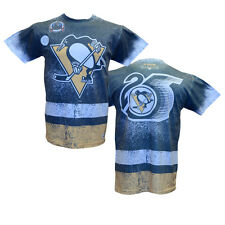 NHL Mitchell & Ness Sublimated T-Shirt (XL, Pittsburgh Penguins)