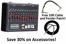 New MXR M108 10 Band Graphic EQ Equalizer Guitar Effects Pedal! Free Extras!