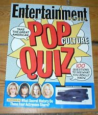 ENTERTAINMENT WEEKLY mag Angelina Jolie Colin Farrell Don DeLillo POP QUIZ 2003