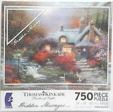 CEACO® 750pc KINKADE • EVENING AT SWANBROOKE • HIDDEN MESSAGES • PUZZLE Jig Saw