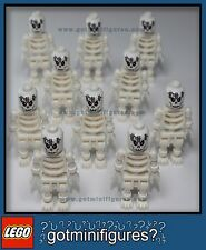 LEGO® SKELETON ZOMBIE minifigures HALLOWEEN ARMY men guys NEW town people lot 10