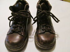 Doc Martens Air Wair Brown Leather Lace-up Ankle Boots UK Sz 3 US sz 5 1/2-  6