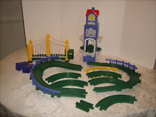 Geotrax High Chimes Clock Tower with Bridge and Track