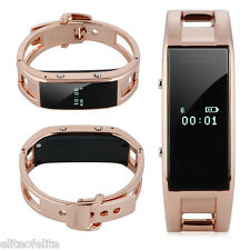 Women Smart Bluetooth Wrist Watch Bracelet for Andriod IOS iPhone Samsung HTC LG
