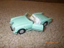 Toy Car 1956 light Green Chevy Chevrolet Corvette SS409 Spring Rewind Release