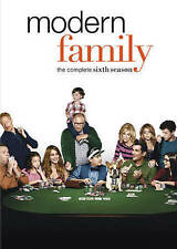 Modern Family The Complete Sixth 6th 6 Season (DVD, 2015, 3-Disc Set) NEW