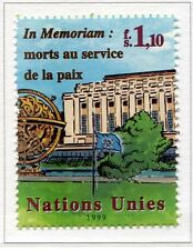 19672) UNITED NATIONS (Geneve) 1999 MNH** In Memoriam.