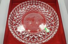 RARE Waterford Crystal Private Collection San Francisco Plate