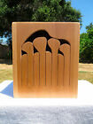 8 Key Tuned Wooden Tongue Drum / Slit Drum (C# Minor)