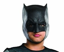 Boys Batman v Superman Mask Black Latex Cowl Dawn of Justice Costume Child Kids
