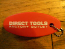 FLOATING BOAT KEY RING FROM DIRECT TOOLS FACTORY OUTLET; BRAND NEW NEVER USED