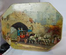 Vintage Thorne toffee tin Coach And horses Lid