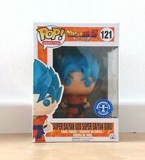 Funko Figurine Dragon Ball Z - Super Son Goku God Blue Exclusive Pop