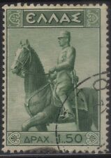 [JSC]1938 Europe GREECE Statue of King Constantine on horse SC#414