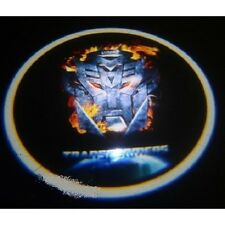 Car Laser Wireless sensor Door Logo Shadow Light Lamp Transformers Autobot Fire