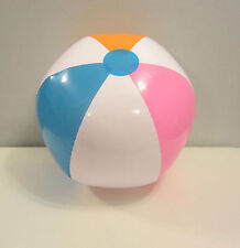 1 NEW LARGE INFLATABLE MULTI COLORED BEACH BALL  POOL BEACHBALLS PARTY FAVORS