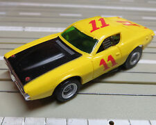 FALLER Aurora -- Dodge Charger canne car avec AFX Chassis