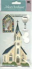 Catholic Church Stained glass Holy Communion Eucharist Chalice Jolee's Stickers