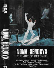 Nona Hendryx ‎The Art Of Defense CASSETTE ALBUM Electro, Synth-pop, Disco, Funk