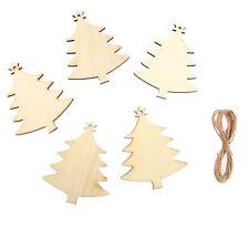 10 x In legno Natale alberi,Etichette Decorazione Di Nozze decorazione Forma
