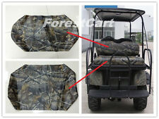Realtree Camo Back Flip Rear Seat Covers & Backrest, Bad Boy Buggies 616499