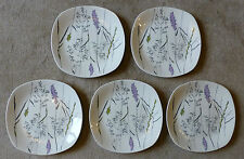 ONE- Midwinter Stylecraft Jessie Tate Whispering Grass Lilac Dinner Plate c1960s