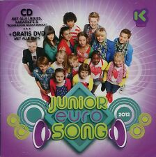 Junior Eurosong 2012 : Belgian pre-selection (CD + DVD)