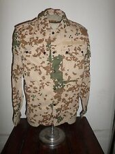 GERMAN ARMY TROPICAL FLECK CAMOUFLAGE SHIRT/JACKET SIZE SMALL FLECKTARN