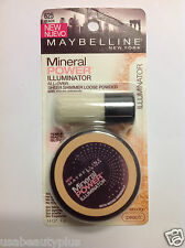 Maybelline Mineral Power Illuminator Powder Peach #625 NEW.