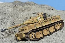 RC PANZER Tiger I Germany mit GEFECHTSIMULATION in 1:16 von Torro 709