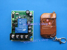 AC 110v-220v 30A 1 channel Wireless remote control light switch for water pump