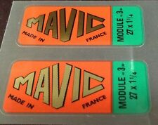 Mavic Module 3 wheel decals set of 2 (sku 1225)