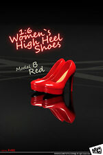 NEW MCTOYS P-052 Model B Women`s High Heel Shoes 1/6 Figure Four Colors