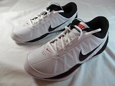 NIB MEN'S NIKE AIR RING LEADER LOW ATHLETIC SHOE  size 7 M, White, Black & Red