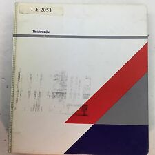 Tektronix TDS 520A 524A 540A 544A Oscilloscopes Service Manual 070-8713-03
