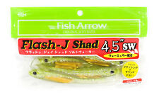Fish Arrow Soft Lure Flash J Shad SW 4.5 Inch 4 Piece per pack #118 (1537)