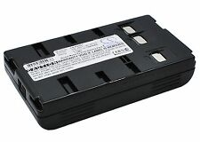 Ni-CD Battery for Panasonic NV-VJ78 PV-D407 PV-5372 PV-L606 NV-S20 NV-S78 PV-L35