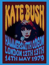 "Kate Bush Hammersmith 1979 16"" x 12"" Photo Repro Promo Poster"