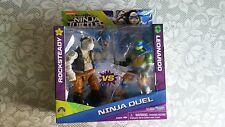 Teenage Mutant Ninja Turtles  Ninja Duel ROCKSTEADY vs LEONARDO  TWIN PACK