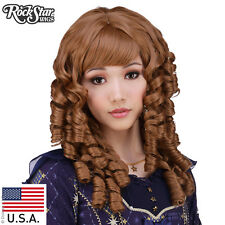 Gothic Lolita Wigs®  Ringlet Redux™ Collection - Caramel Brown Mix - 00502