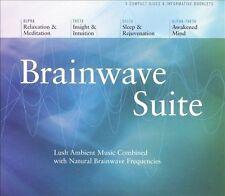 Brainwave Suite [Box] by Jeffrey D. Thompson (CD, Jul-2003, 4 Discs,...