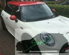 New Mini Cooper S, JCW, F56, Beltline Tape De-chrome MATTE BLACK 2014 Onwards