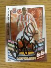 2012/2013 Autograph: Stoke City - Kightly, Michael [Hand Signed 'Topps Match Att