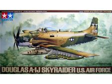 Tamiya 1/48 scale Douglas A-1J Skyraider U.S. Air Force Plastic Model Kit New